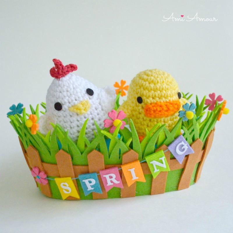 Spring Chick Amigurumi - Free Crochet Pattern