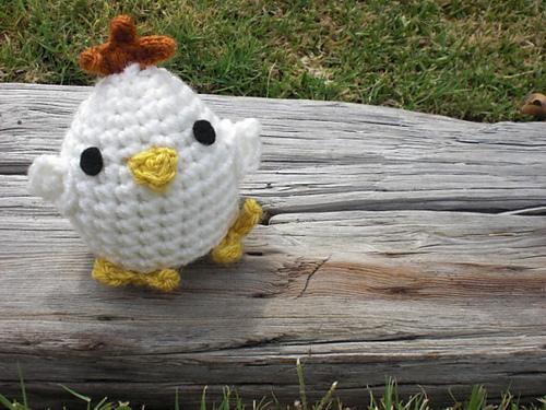 Cute Chick Amigurumi Crochet Pattern