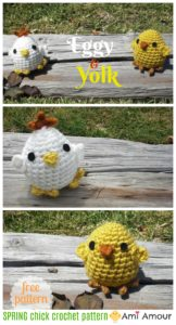 Spring Chick Amigurumi Easter Crochet Pattern
