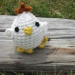 Chick Crochet Pattern - Eggy