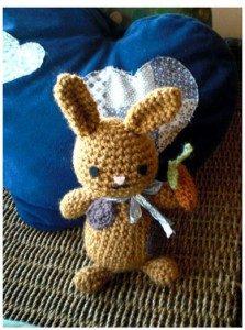 Rabbit Bunny - Free Amigurumi Pattern