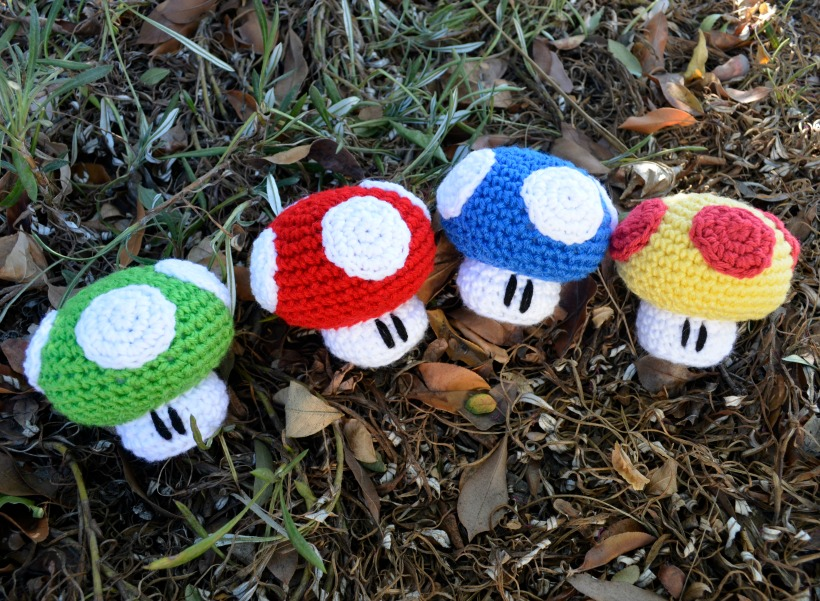 Yet Another Mario Mushroom Pattern Ami Amour