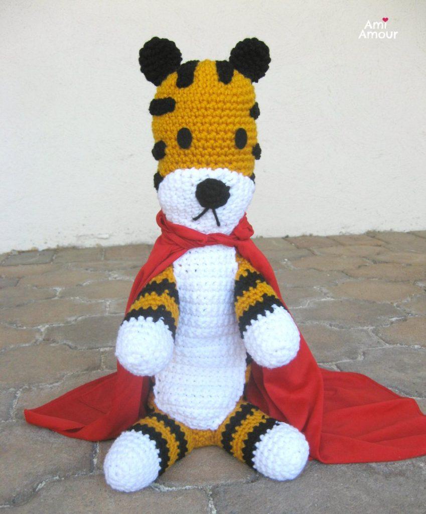 Hobbes Amigurumi Doll