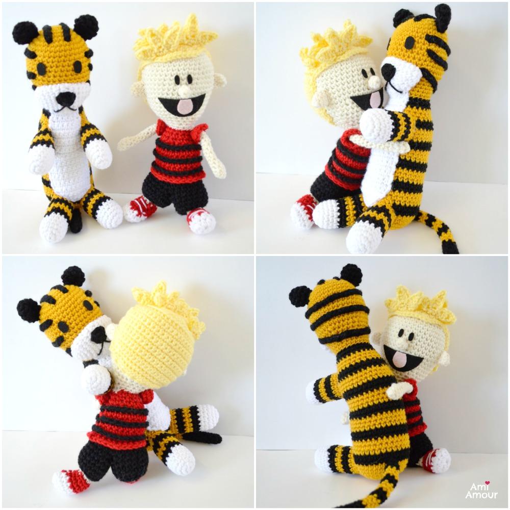 Hobbes Crochet Pattern