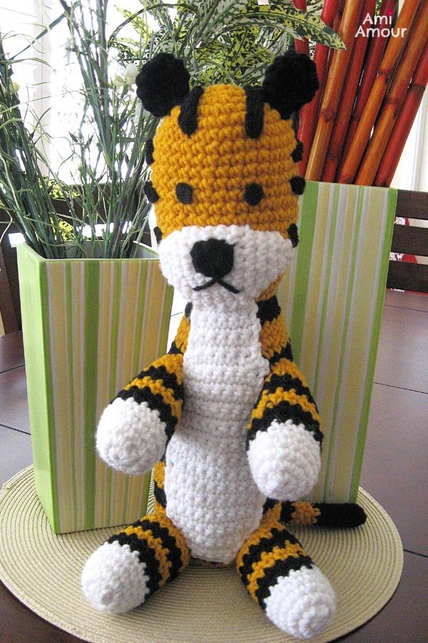 Hobbes Amigurumi - Free Crochet Pattern