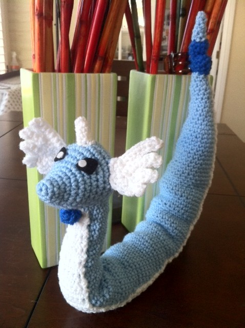 Dratini Pokemon Crochet Pattern Images Pokemon Images