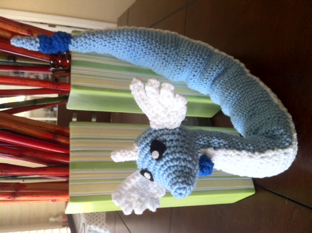 Dragonair Amigurumi Pattern : Dratini Pokemon Crochet Pattern Images Pokemon Images