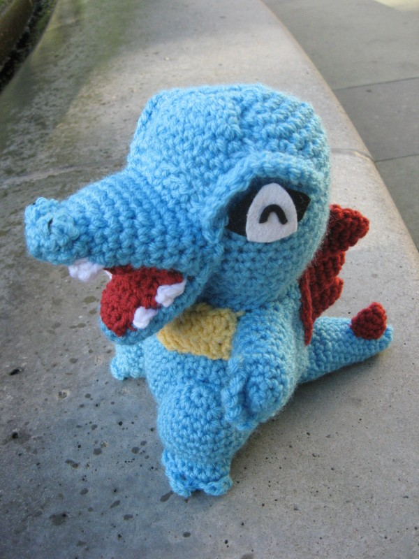 Dragonair Amigurumi Pattern : Gotta catch em all, Pokemon Amigurumi Edition!