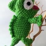 Amigurumi Open Mouth : Charming Chameleon Crochet Pattern