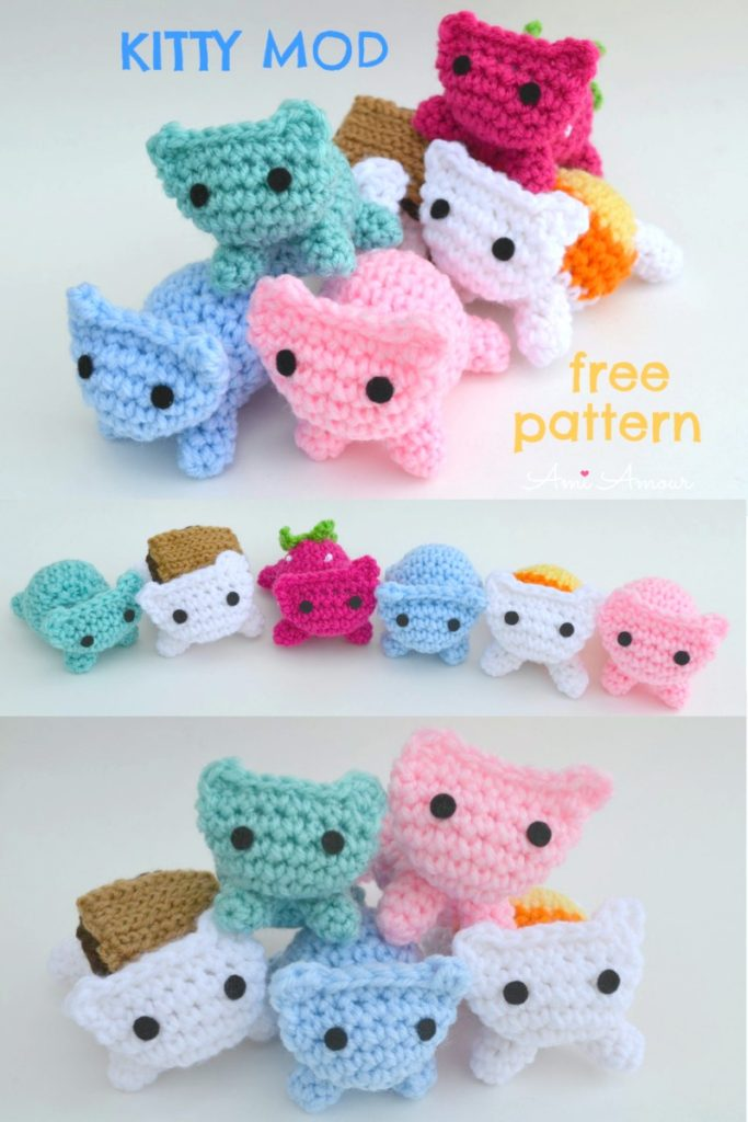 Amigurumi Female Cat Free Crochet Pattern | Crochet doll pattern ... | 1024x683