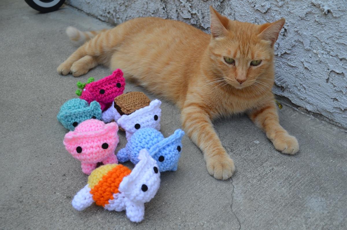Free Amigurumi Cat : Kitty mod free cat amigurumi pattern ami amour