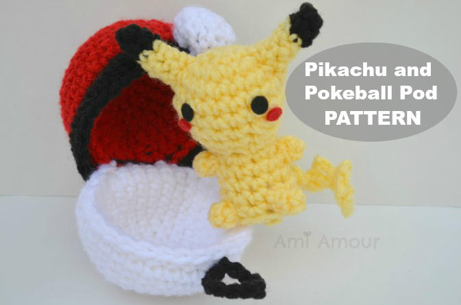 FREE Pokemon Pikachu Inspired Hat Crochet Pattern | Pikachu ... | 445x673