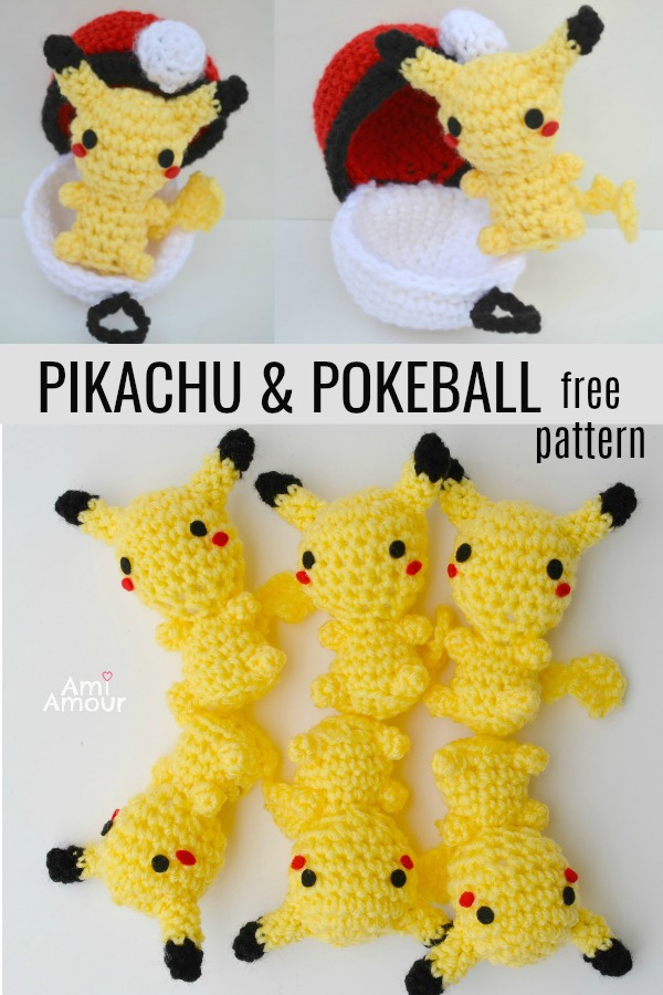 Free Pokemon Crochet Patterns in 2020 | Pokemon crochet pattern ... | 900x600
