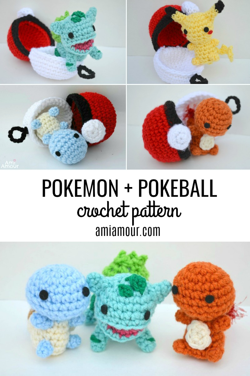 Pokemon Amigurumi Pokeball Crochet Pattern