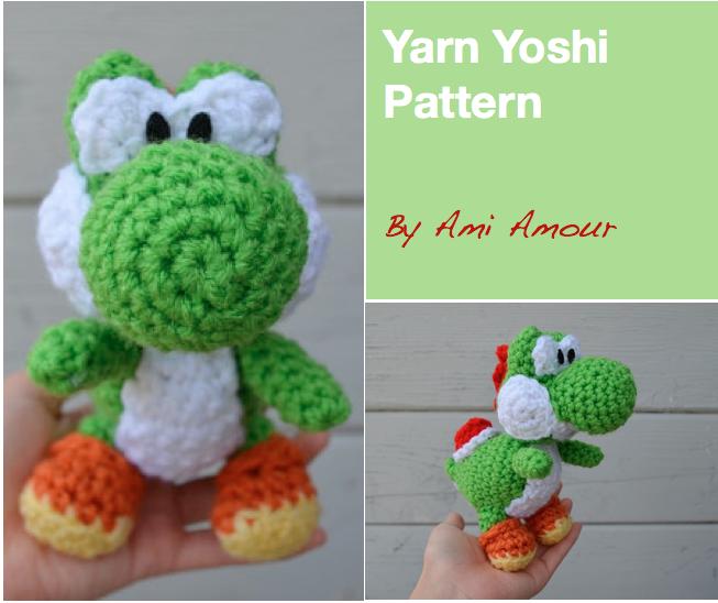 Yarn Yoshi Amigurumi Pattern