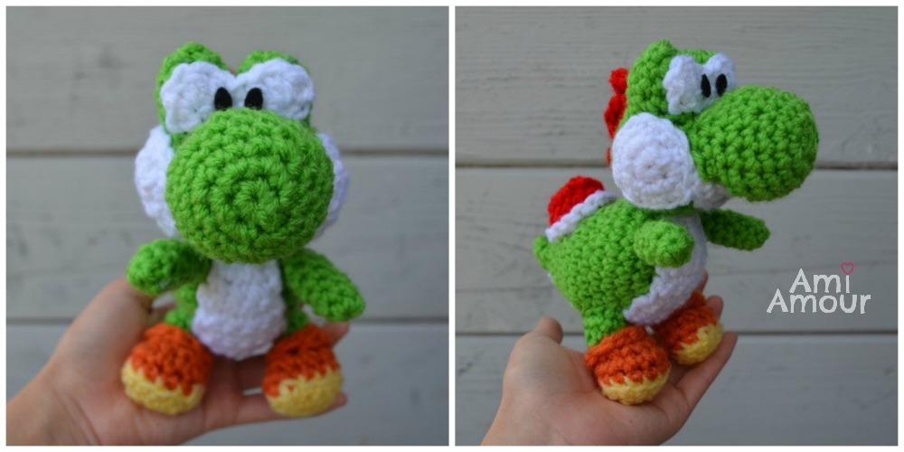 Crochet Yoshi : Yarn Yoshi Amigurumi Pattern ?