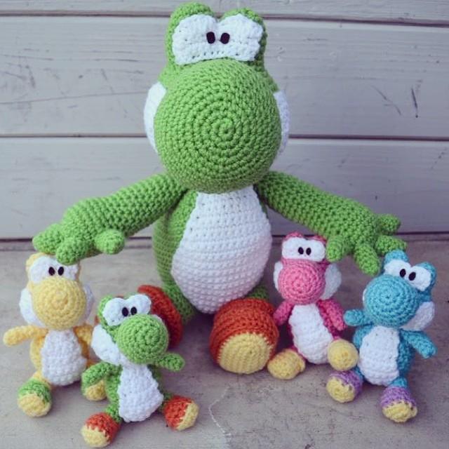 Yoshi Crochet Amigurumi