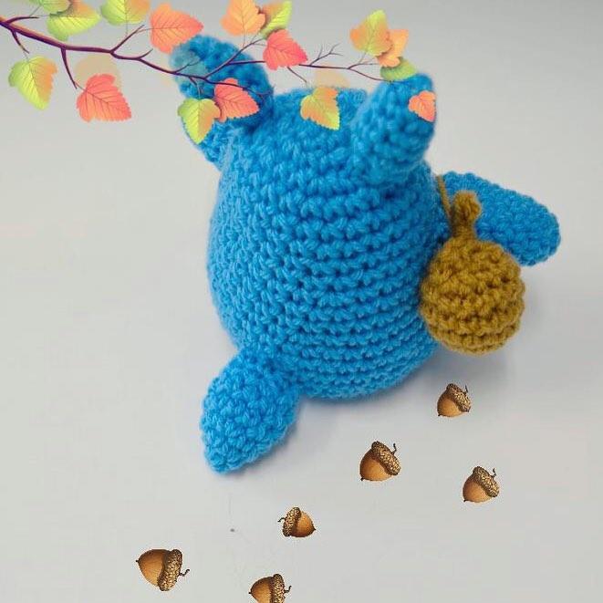 Chu Totoro Amigurumi Crochet