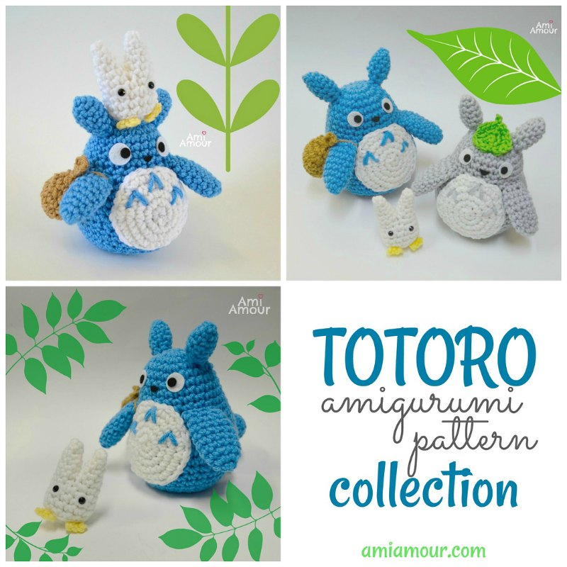 Totoro Amigurumi Pattern Collection