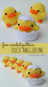 Duck Amigurumi Free Crochet Pattern