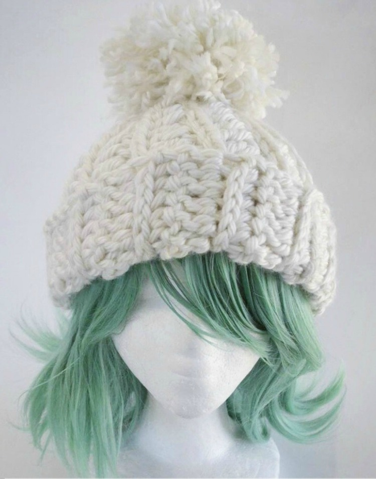 Whenever Winter Chunky Hat Ami Amour