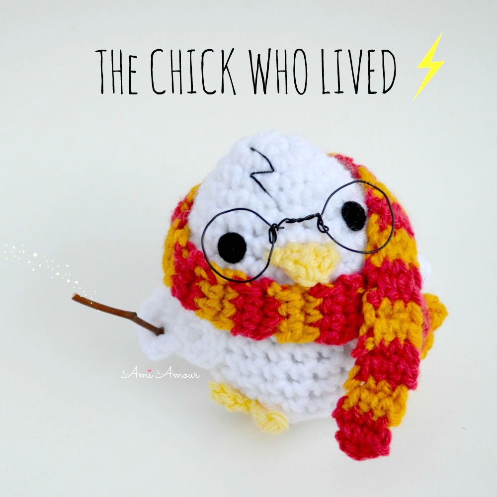 Harry Potter Amigurumi Chick