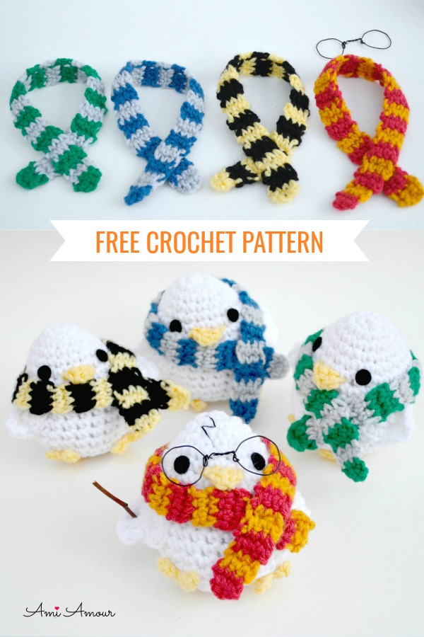 Harry Potter Amigurumi Free Crochet Pattern