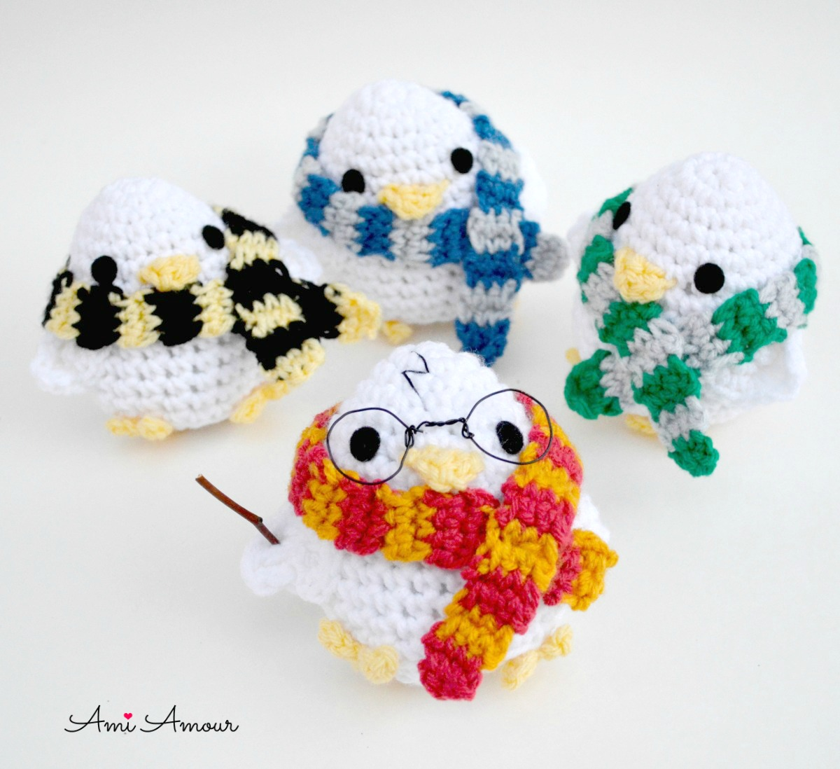 Harry Potter Amigurumi Chicks Crochet Pattern