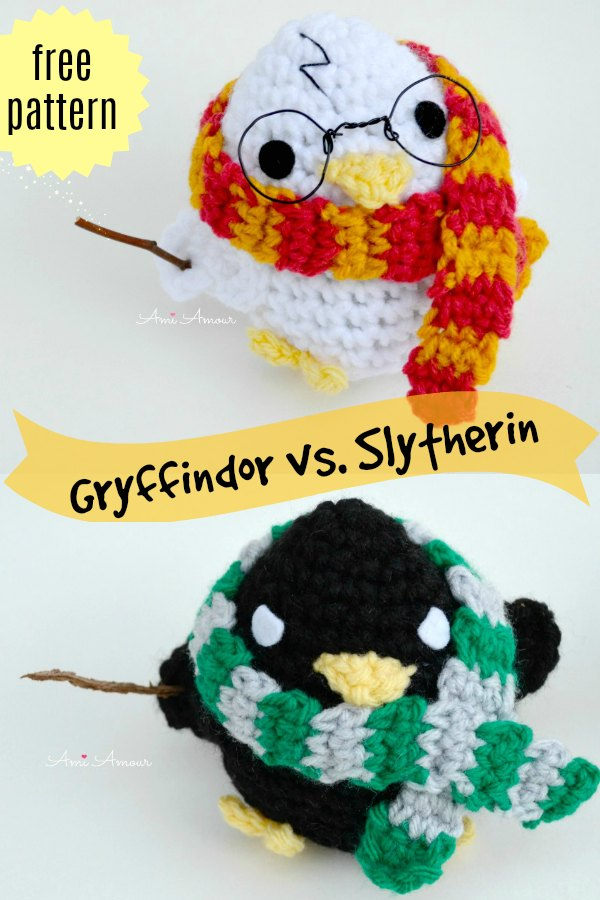 Harry Potter Amigurumi Free Pattern