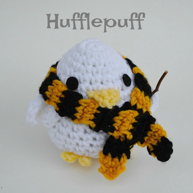 Harry Potter Amigurumi Hufflepuff