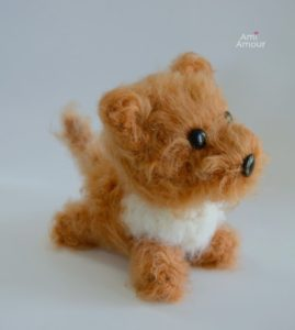 Brush Amigurumi Dog Crochet