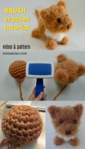 Brush Crochet Tutorial Amigurumi