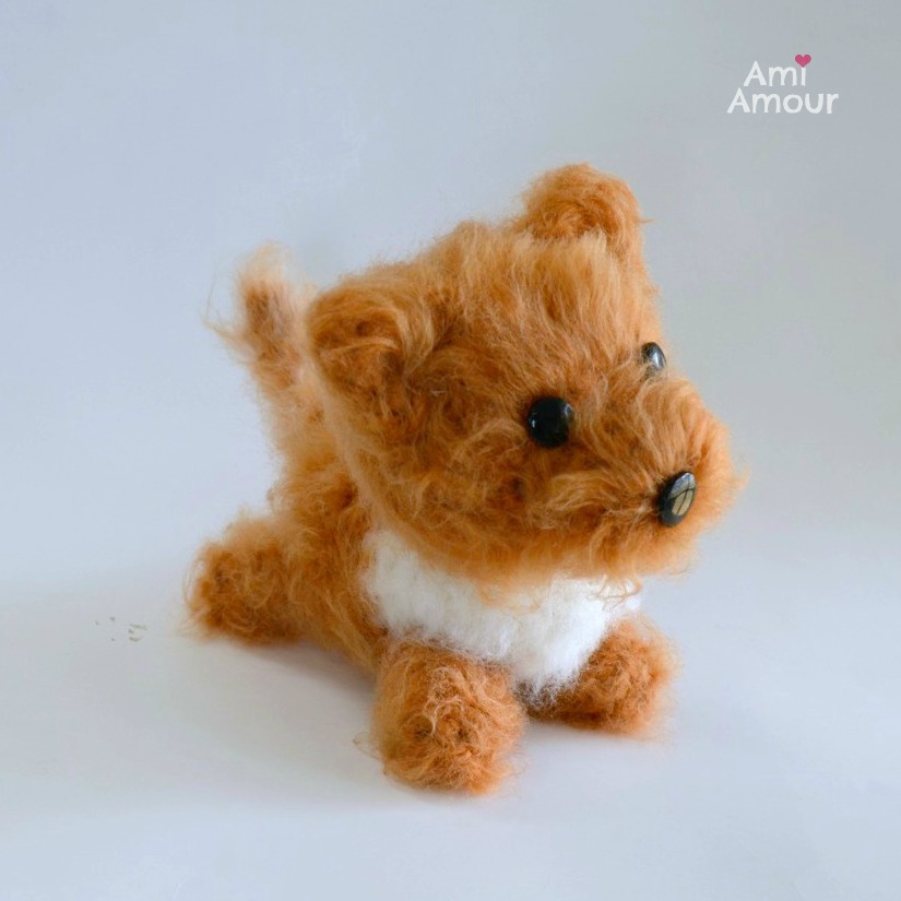 Dog Amigurumi Pattern Brush Crochet Ami Amour