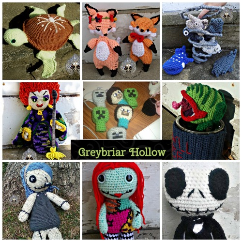 Greybriar Hollow Amigurumi Patterns