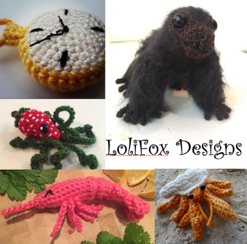 LoliFox Designs Amigurumi Patterns