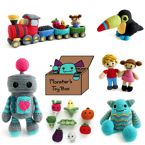 MonstersToyBox Amigurumi Patterns