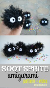 Soot Sprite Amigurumi Pattern and Video Tutorial