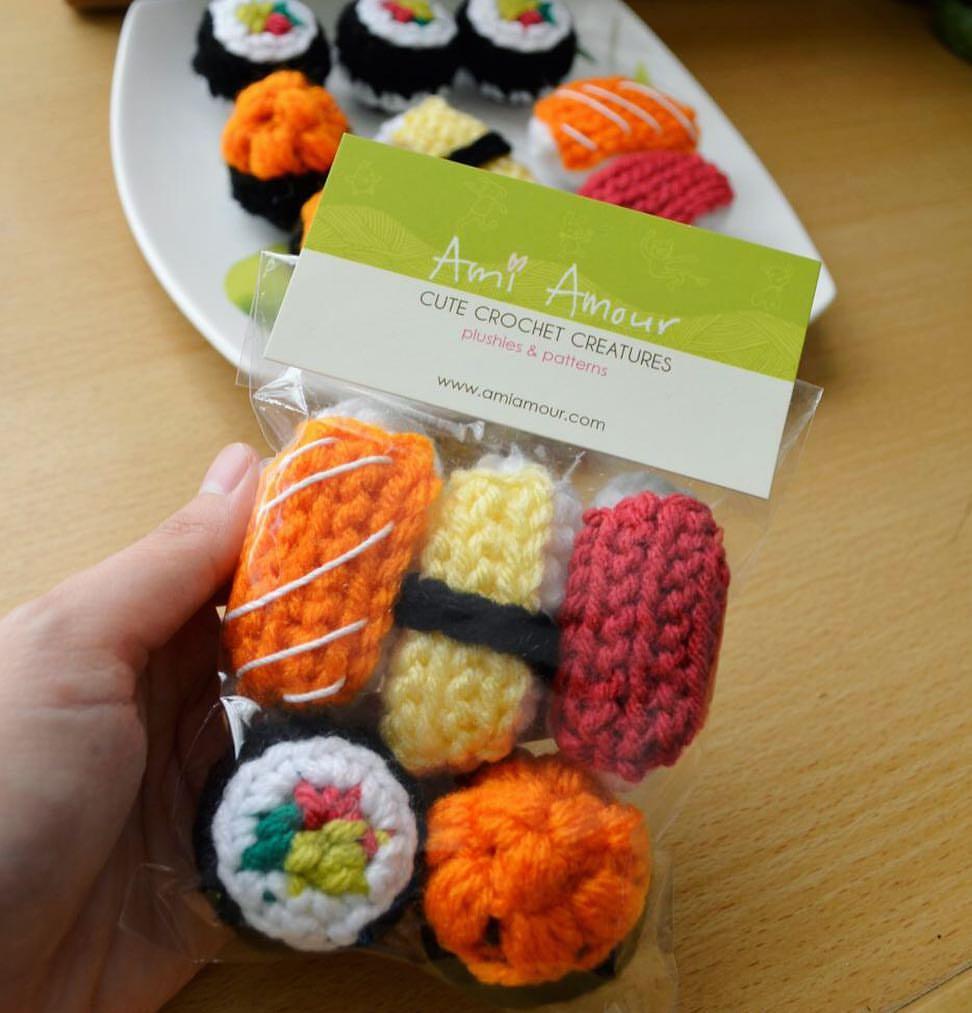 Free Crochet Food Patterns ⋆ Crochet Kingdom (70 free crochet ... | 1013x972