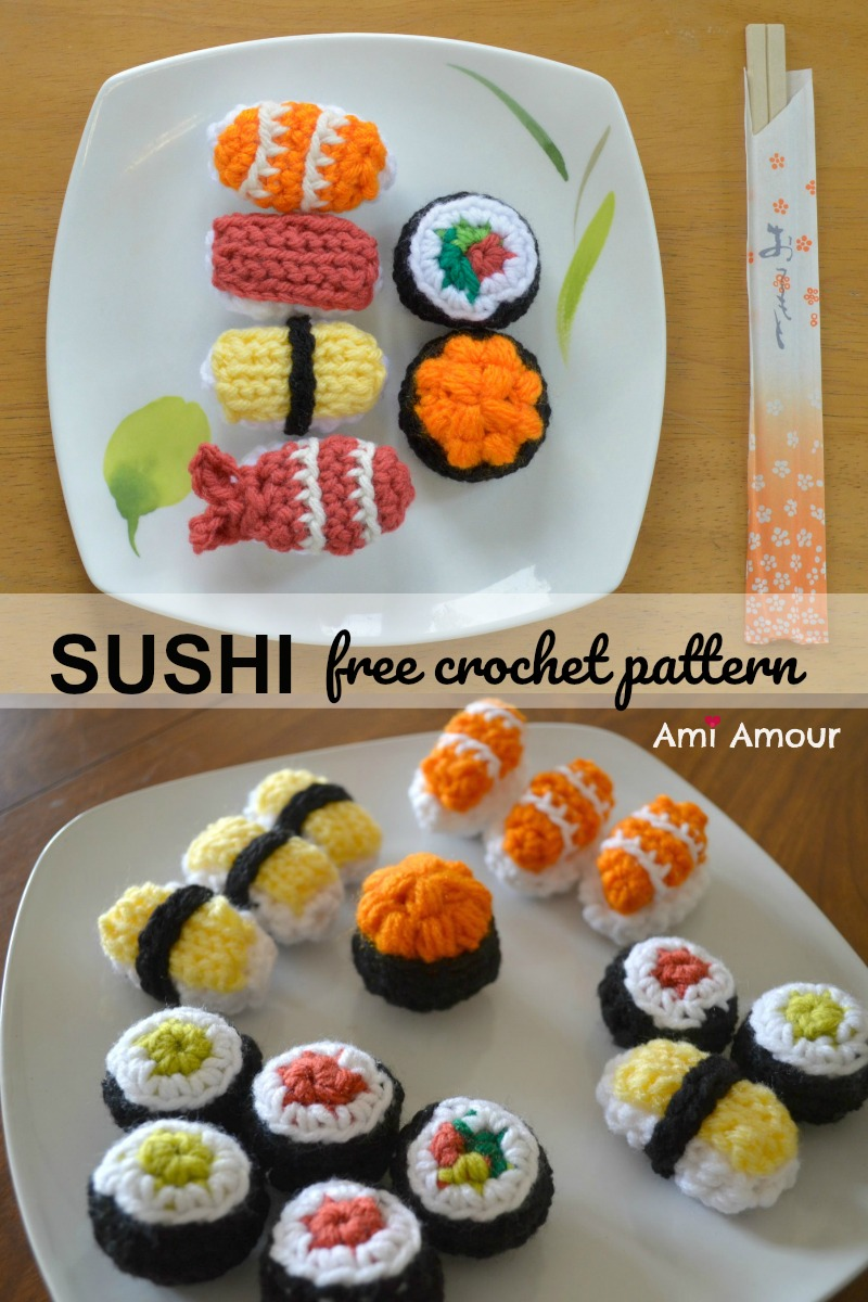 Awesome Crocheted Play Food Patterns | 1200x800