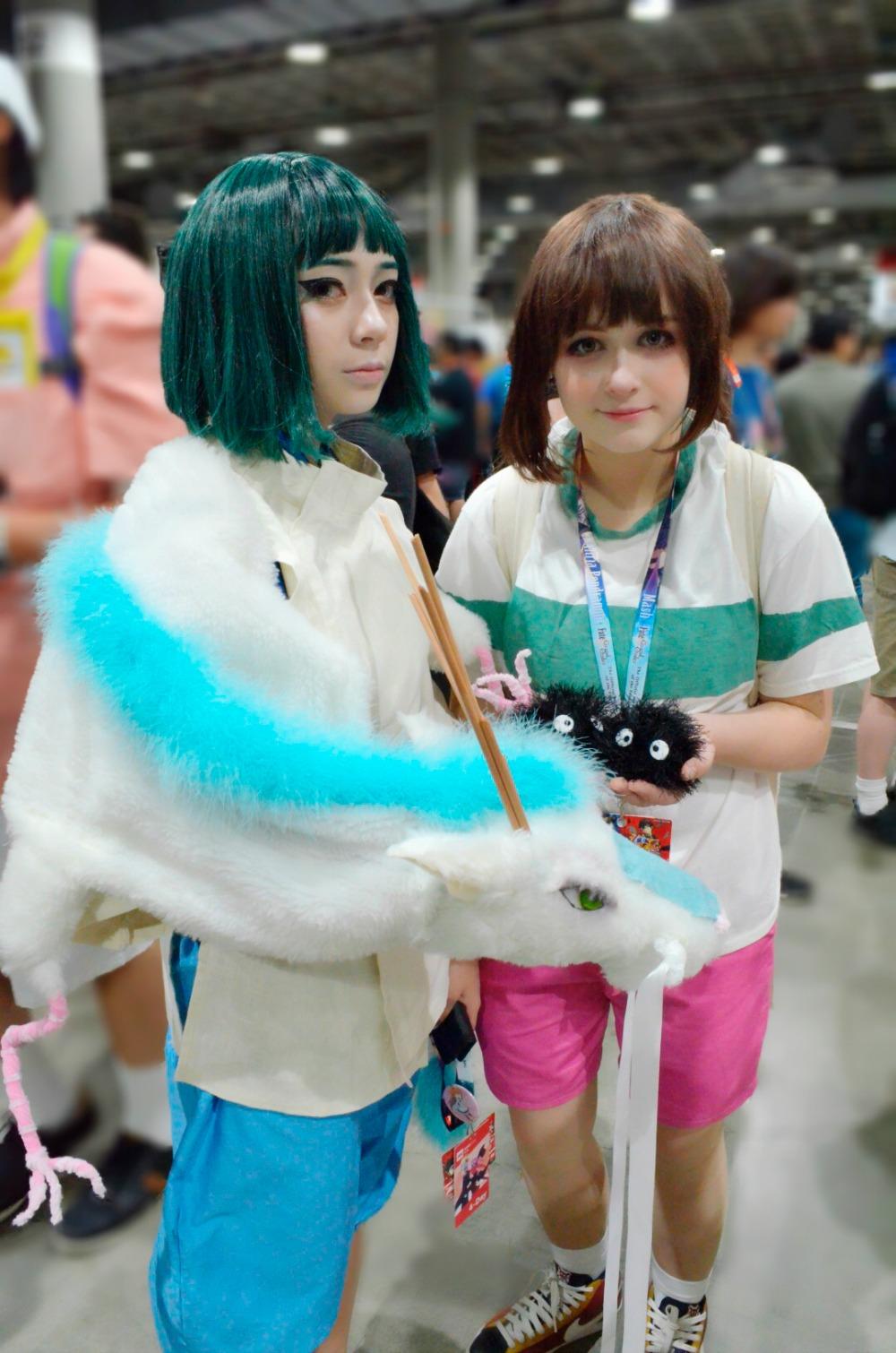Chihiro Haku Cosplay Anime Expo 2018 Spirited Away