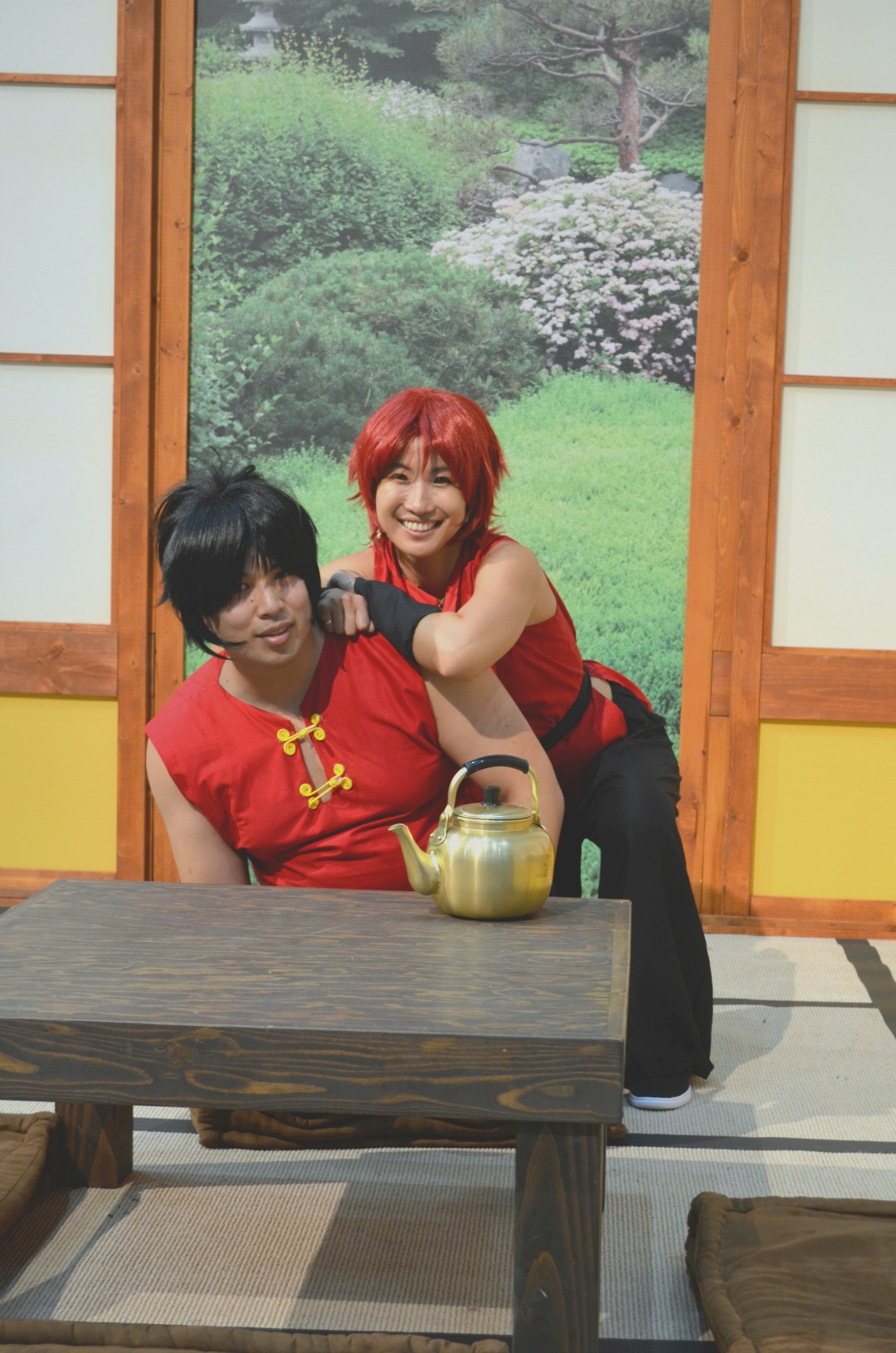Boy and Girl Ranma Cosplay