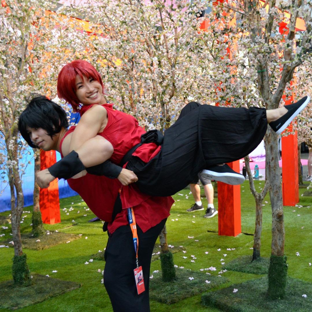 Ranma Cosplay Anime Expo 2018