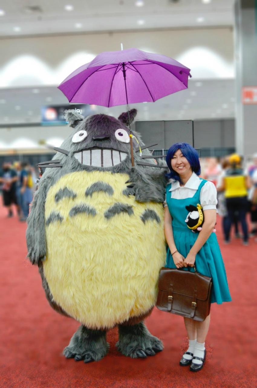 Totoro Cosplay Anime Expo 2018