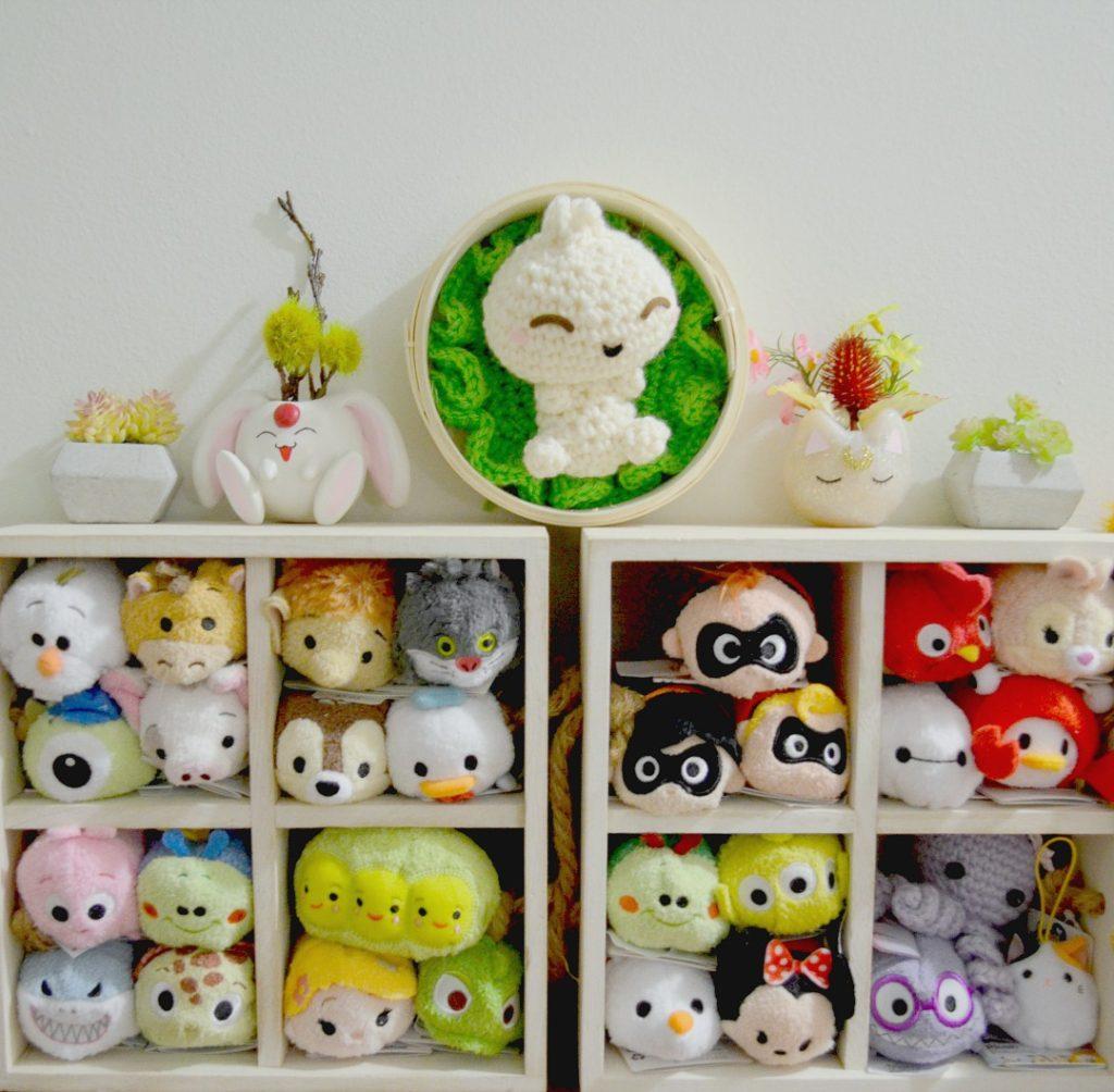 Bao Amigurumi Hoop Art