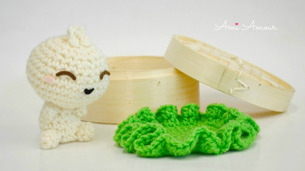 Bao Crochet Pattern - Amigurumi Food