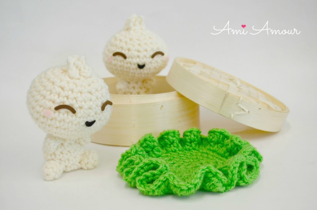 Bao Amigurumi Dumpling Crochet Pattern
