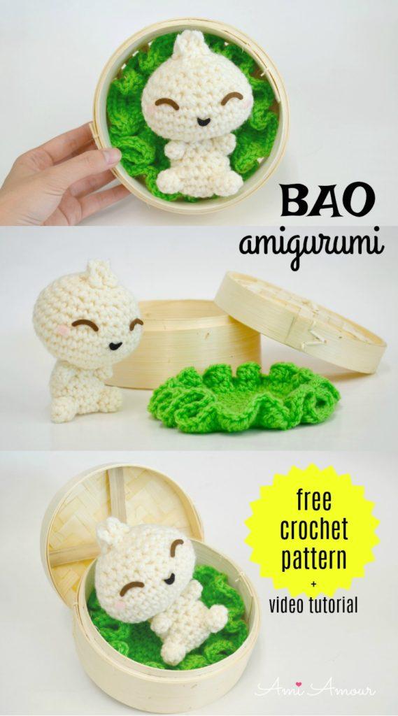Bao Amigurumi Crochet Pattern - Ami Amour