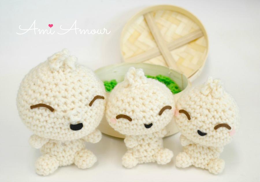 Bao Crochet Buns Amigurumi Food