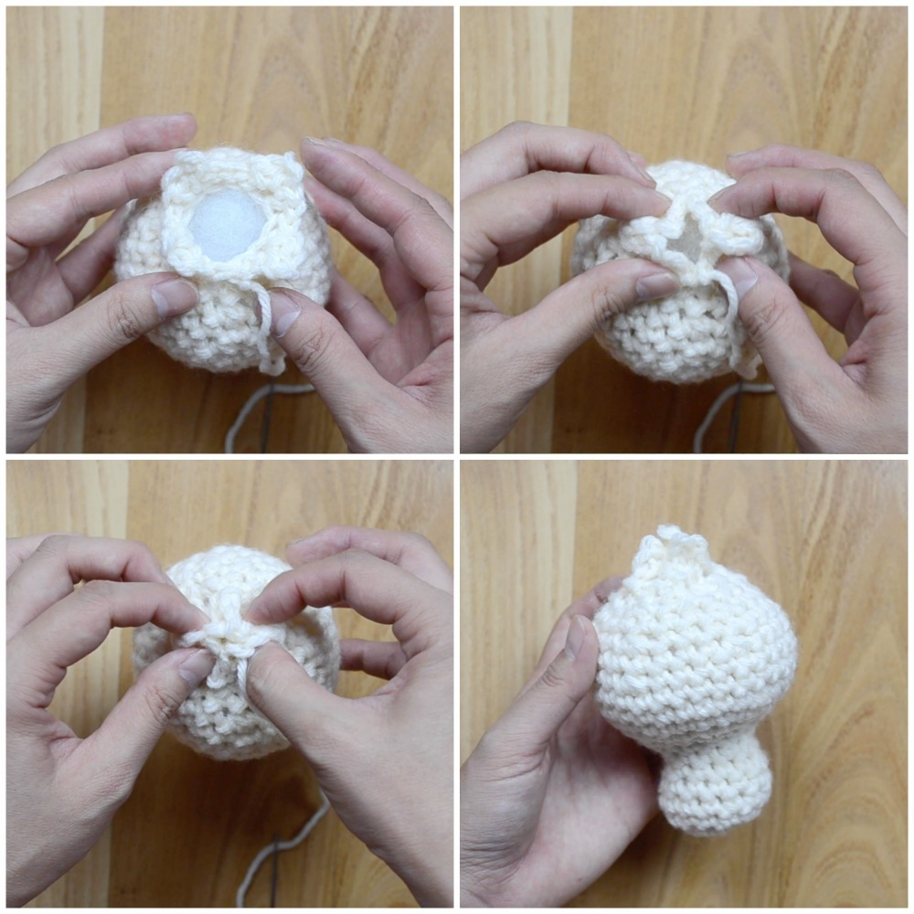 Bao Head Assembly Crochet Pattern