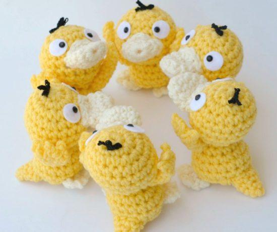 Psyduck Crochet Pattern - Free!